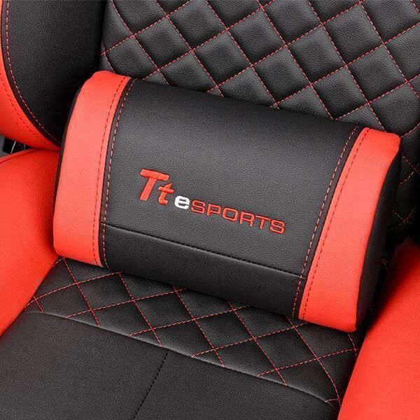 Cadeira Gamer GTC500 Preta E Vermelha -Thermaltake  -  Games Lord