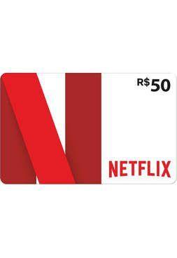 Cartão Pré-Pago Netflix R$ 50  -  Games Lord