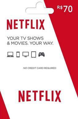 Cartão Pré-Pago Netflix R$ 70  -  Games Lord