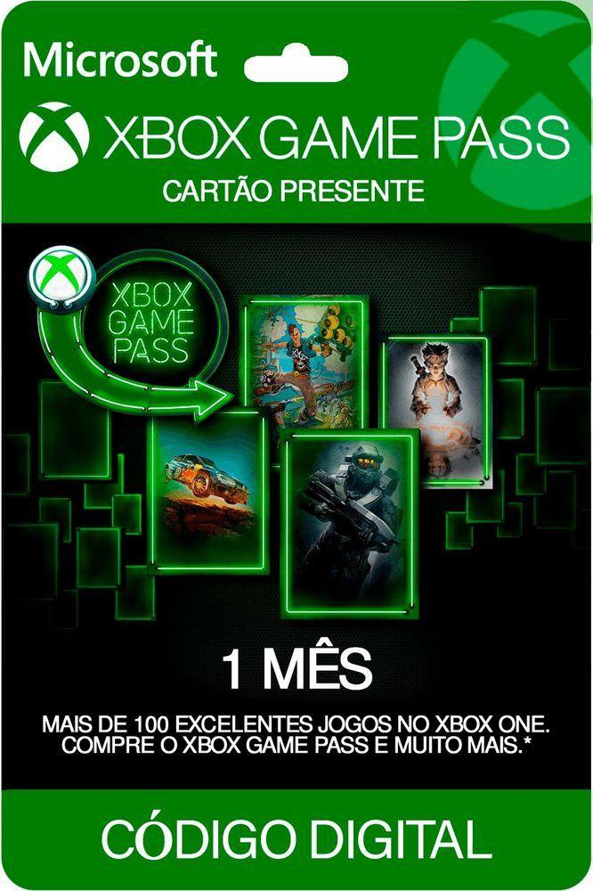 Cartão Xbox Game Pass 1 Mês  -  Games Lord