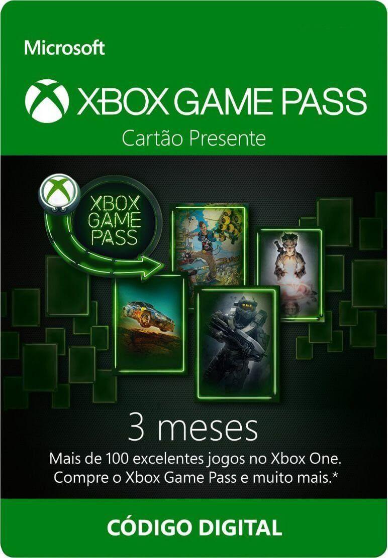 Cartão Xbox Game Pass 3 Mês  -  Games Lord