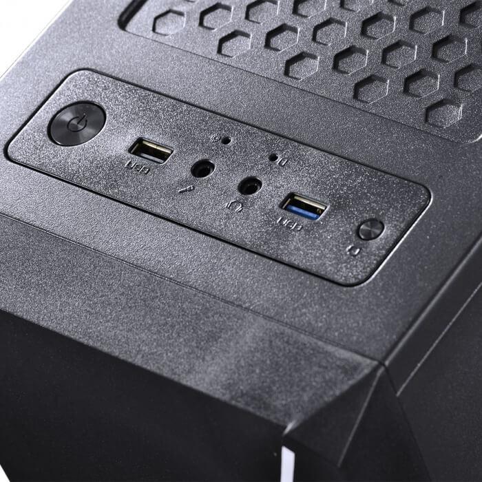 COMPUTADOR GAMER 1000 - ATHLON DUAL CORE 3000G 3.5GHZ 8GB DDR4 HD 1TB GTX 750TI 2GB FONTE 500W  -  Games Lord