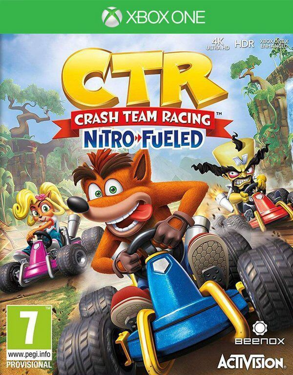 Crash Team Racing Nitro Fueled - Xbox One  -  Games Lord