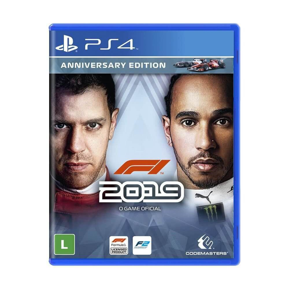 F1 2019 (Anniversary Edition) - Ps4  -  Games Lord