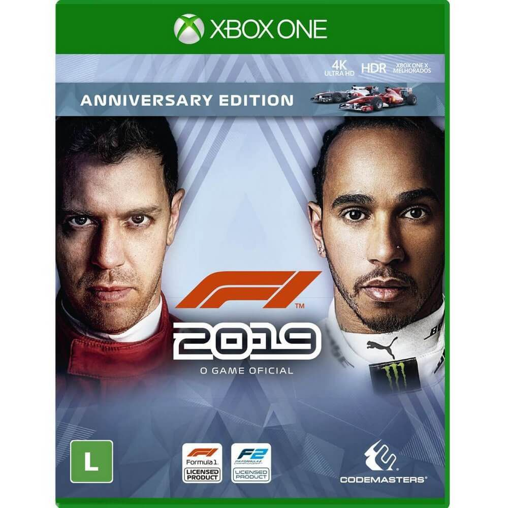 F1 2019 (Anniversary Edition) - Xbox One  -  Games Lord