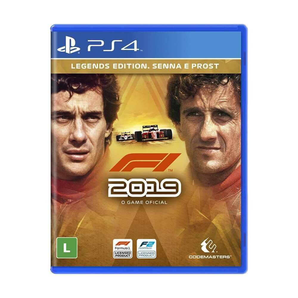 F1 2019 (Legends Edition) - Ps4  -  Games Lord