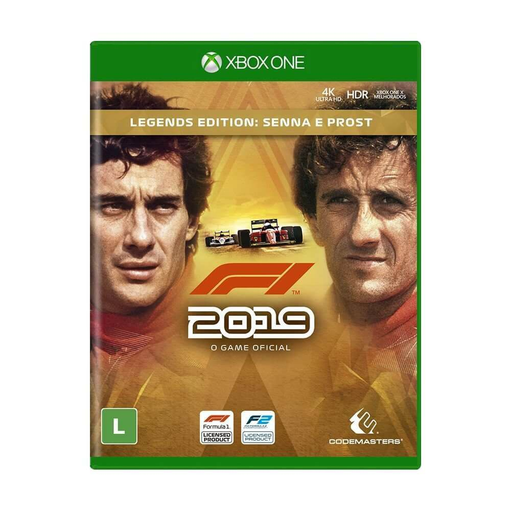 F1 2019 Legends Edition - Xbox One  -  Games Lord