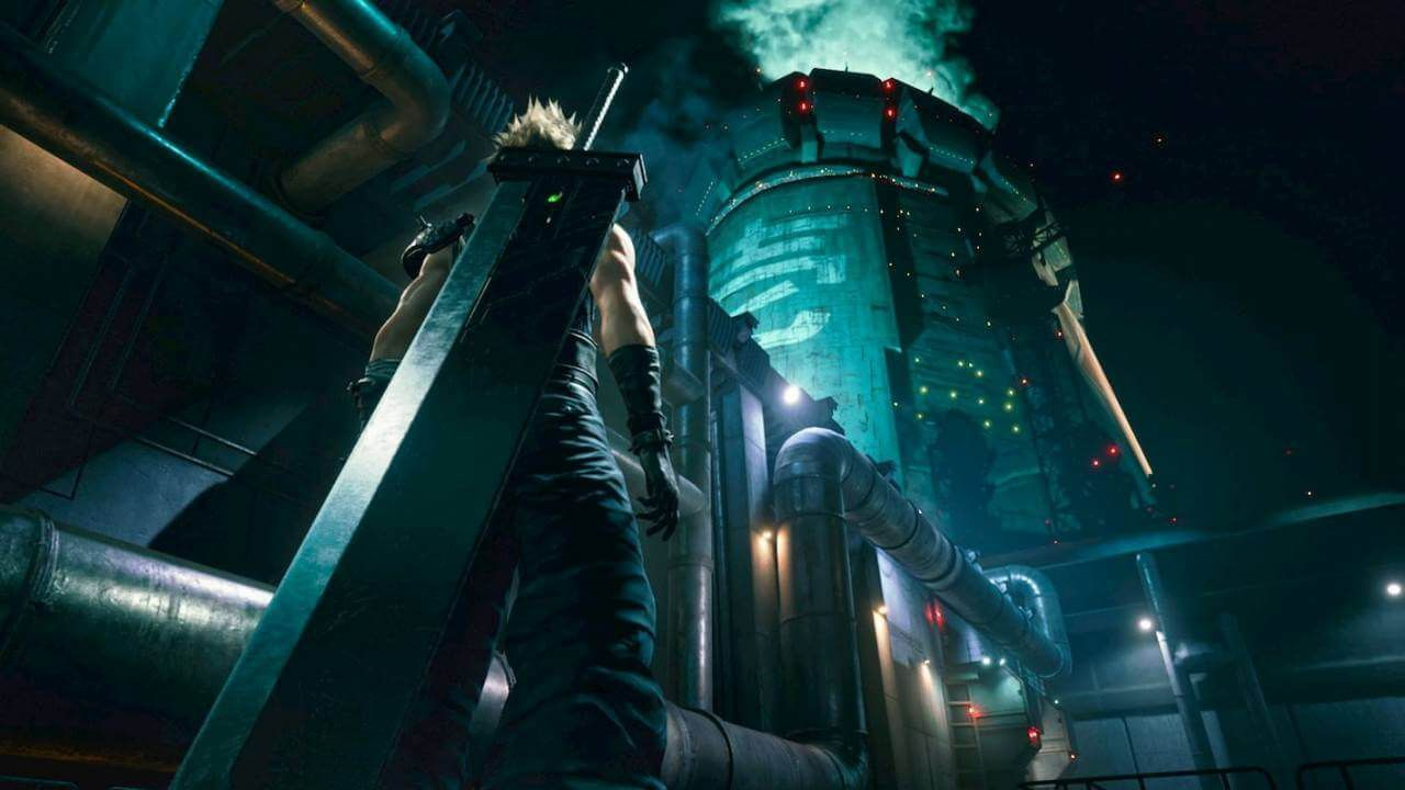 Final Fantasy VII Remake - PS4  -  Games Lord