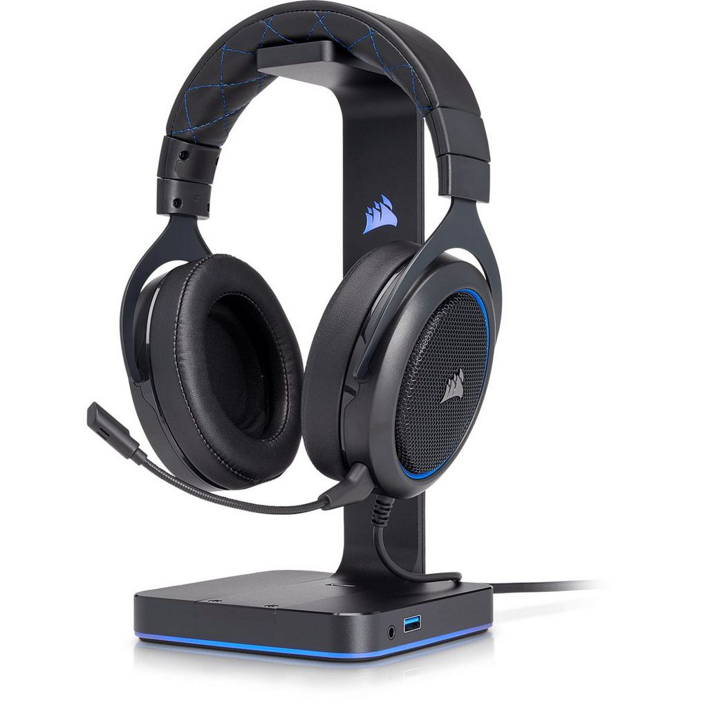 Headset Gamer Corsair HS50 Pro Stereo Blue  -  Games Lord