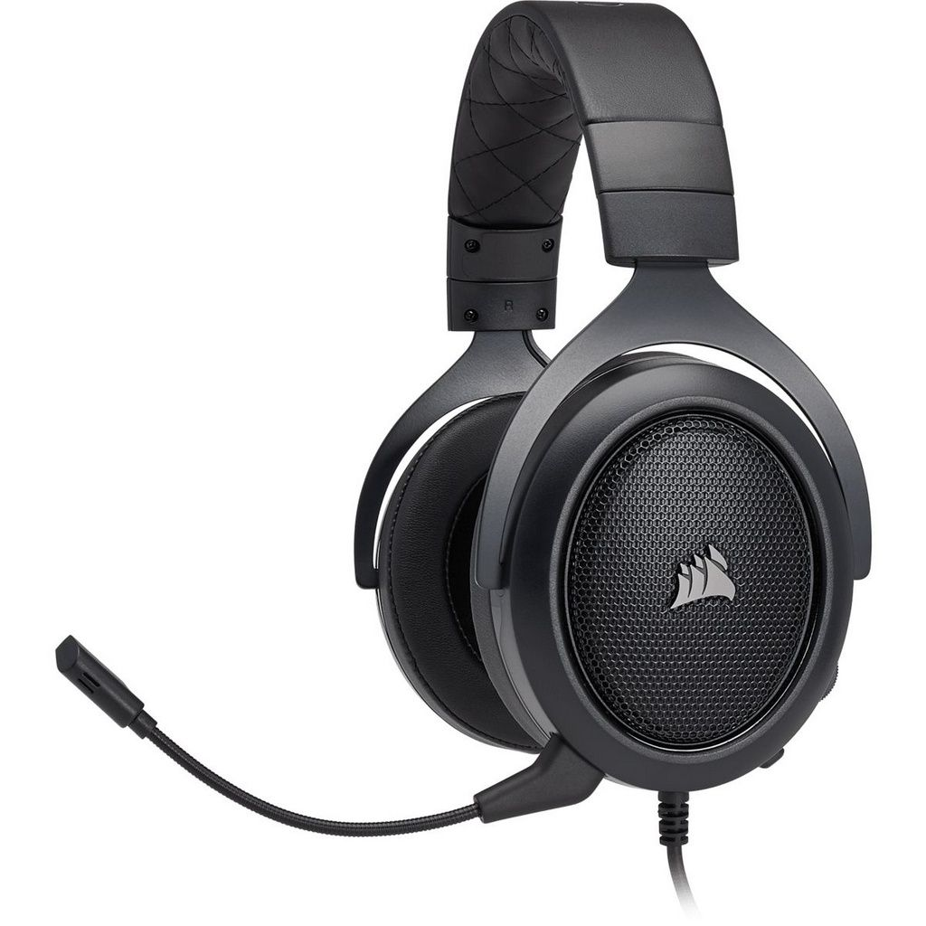Headset Gamer Corsair HS50 Pro Stereo Carbon  -  Games Lord