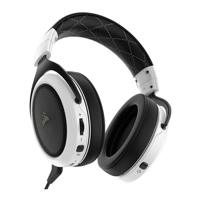 Headset Gamer Corsair Hs70 Branco Wireless 7.1 Pc/Ps4  -  Games Lord