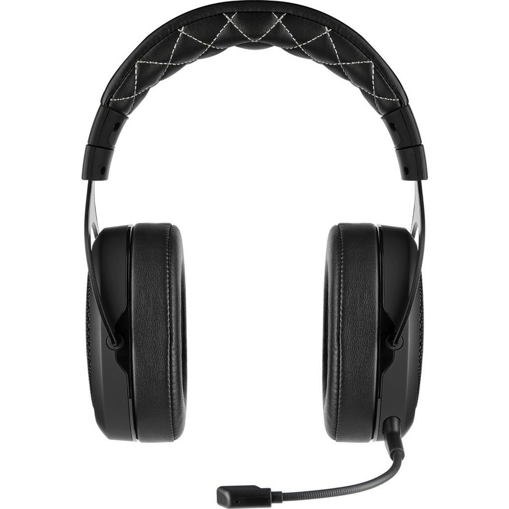Headset Gamer Corsair Hs70 Carbon Wireless 7.1 Pc/Ps4
