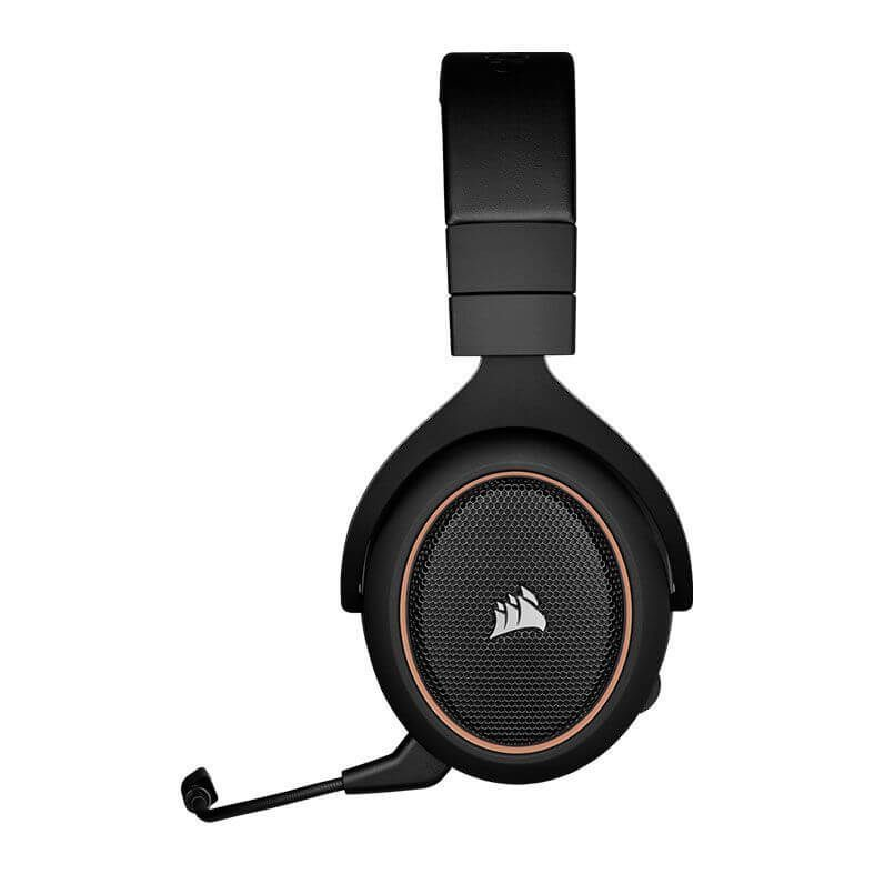 Headset Gamer Corsair Hs70 Gold Wireless 7.1 Pc/Ps4  -  Games Lord