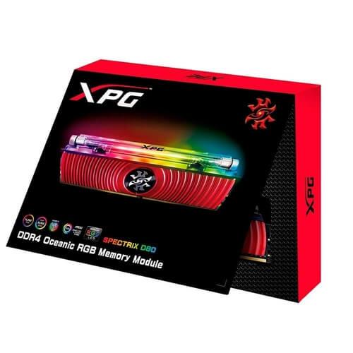Memória 8gb Adata Xpg Spectrix D80 3600mhz  -  Games Lord