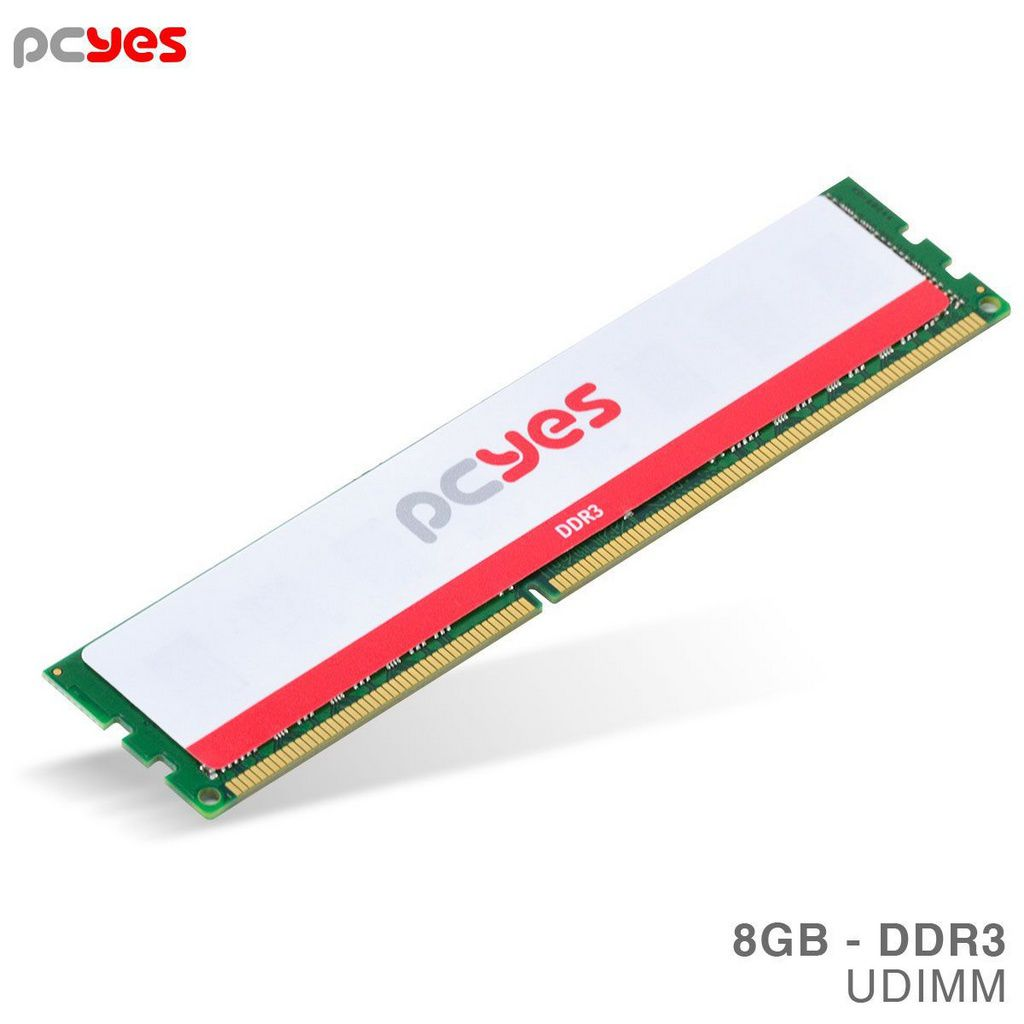 Memoria Pcyes Udimm 8gb Ddr3 1600mhz - Pm081600d3  -  Games Lord