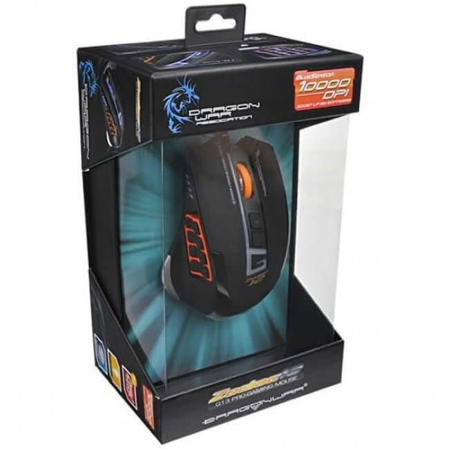 Mouse Gamer Dragon War G13 Com Macro  -  Games Lord