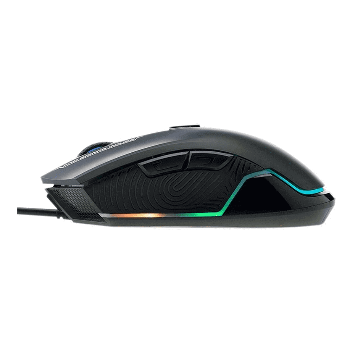 Mouse Gamer Hpg360 6200dpi Led Preto  -  Games Lord