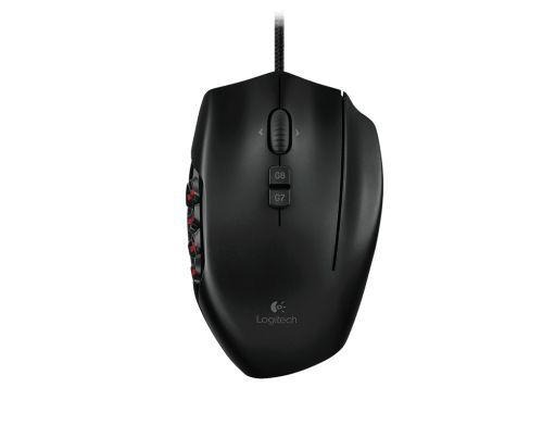 Mouse Gamer Logitech G600 MMO  -  Games Lord