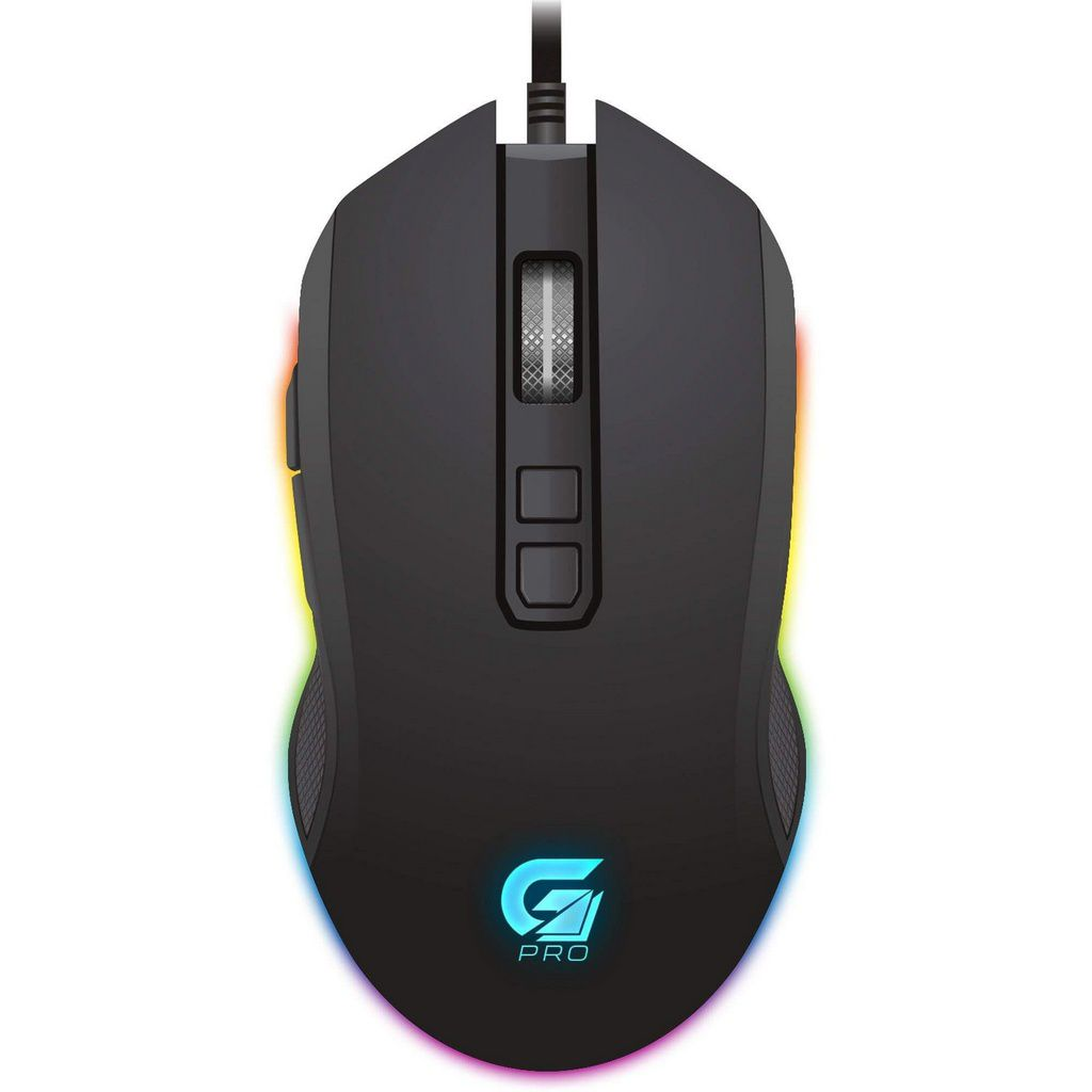 Mouse Gamer Pro M3 Rgb Preto  -  Games Lord