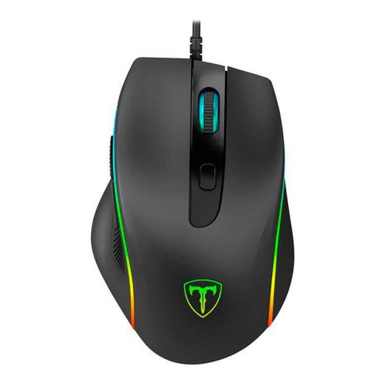 Mouse Gamer T-Dagger Recruit 2, RGB, 3200DPI - T-TGM108  -  Games Lord
