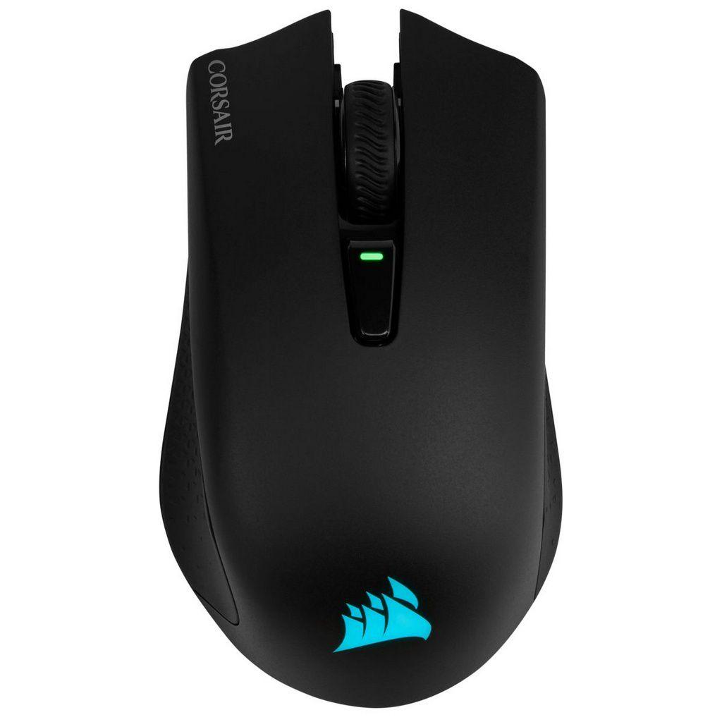 Mouse Sem Fio Gamer Corsair Harpoon, RGB, 6 Botões, 10000DPI  -  Games Lord