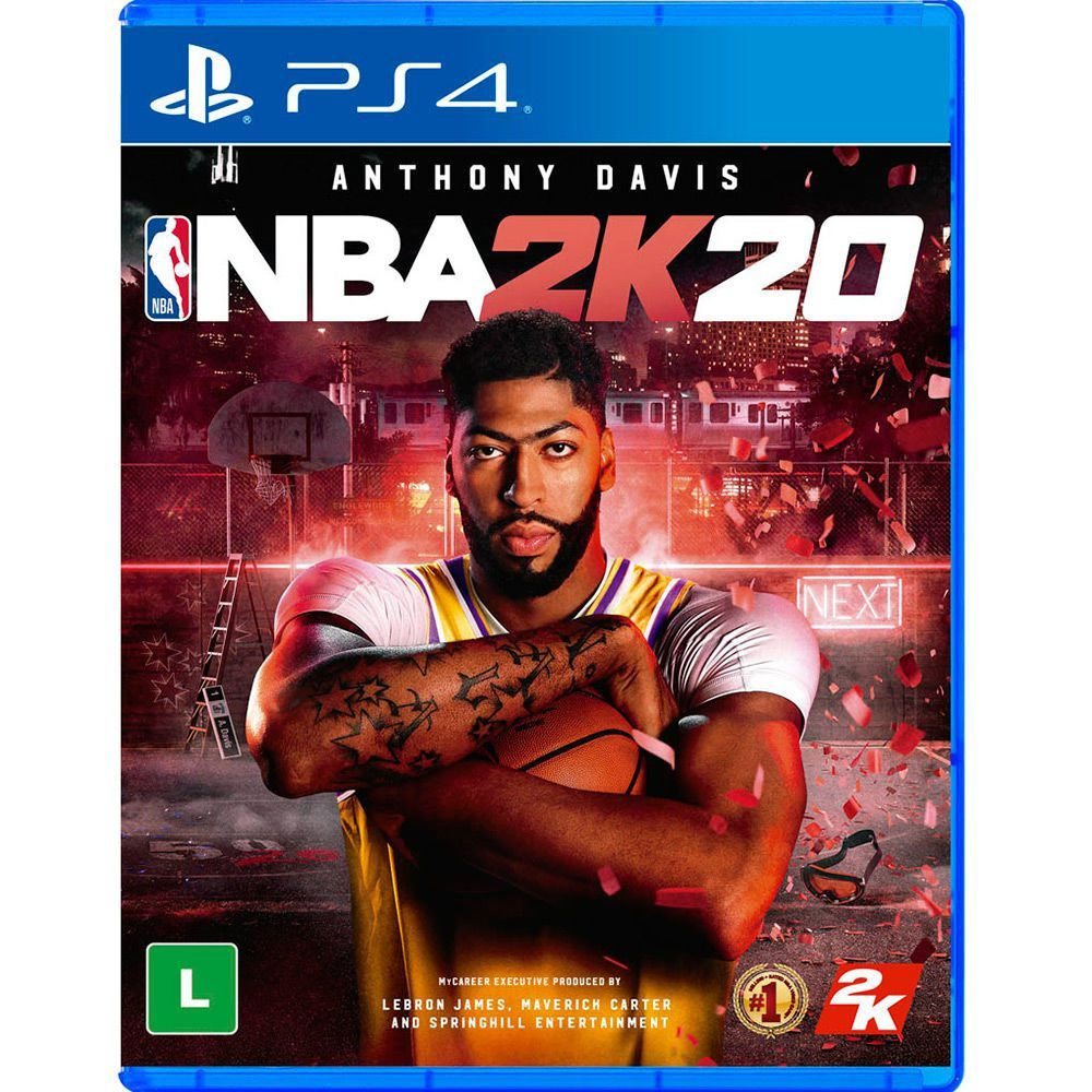 NBA 2K20 - Ps4  -  Games Lord