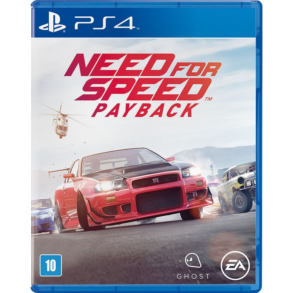 Need For Speed: Payback - Ps4  -  Games Lord