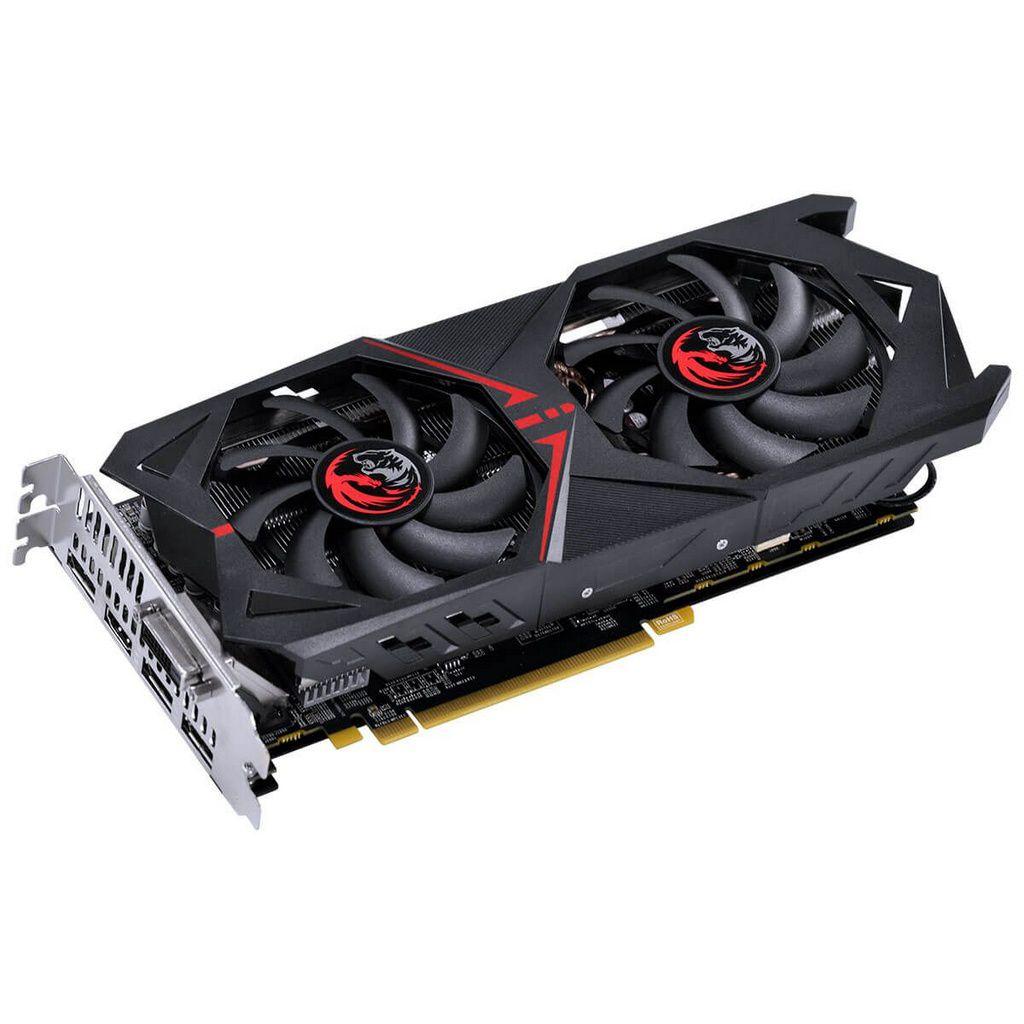 Placa De Video Pcyes Amd Radeon Rx 570 4gb Gddr5 256 Bits Dual-Fan Graffiti Series  -  Games Lord