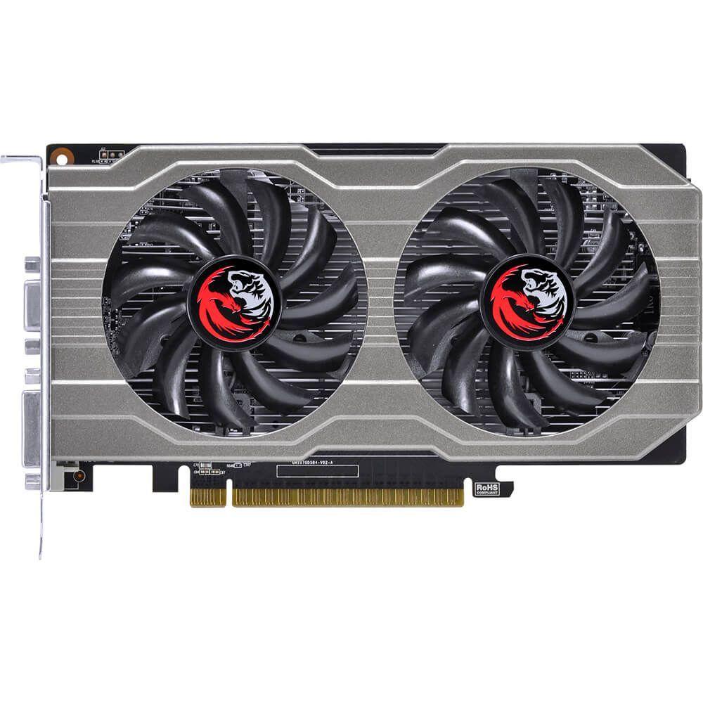 Placa De Video Pcyes Geforce Gtx 750 Ti 2gb Gddr5 128 Bits Dual-Fan  -  Games Lord