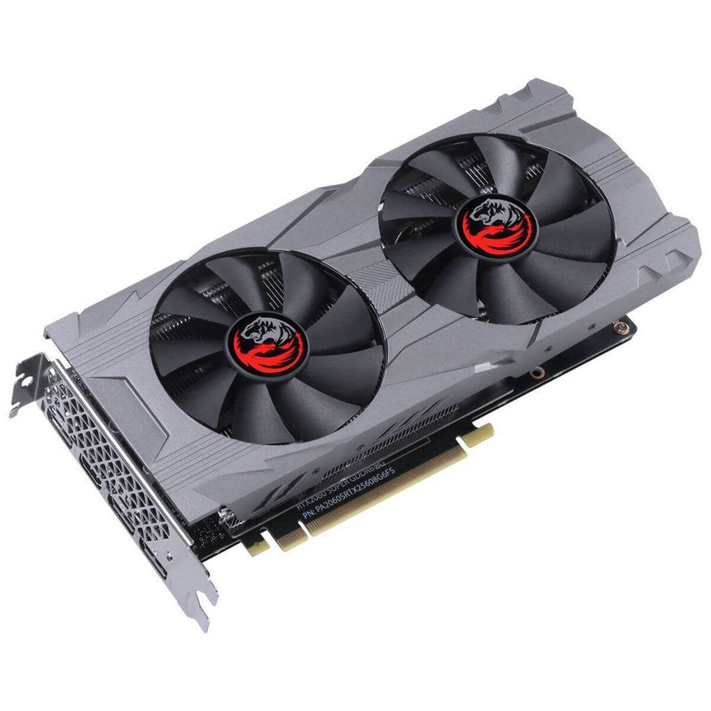 Placa De Video Pcyes Geforce Rtx 2060 Super Gddr6 8gb 256bit Dual-Fan Graffiti Series  -  Games Lord