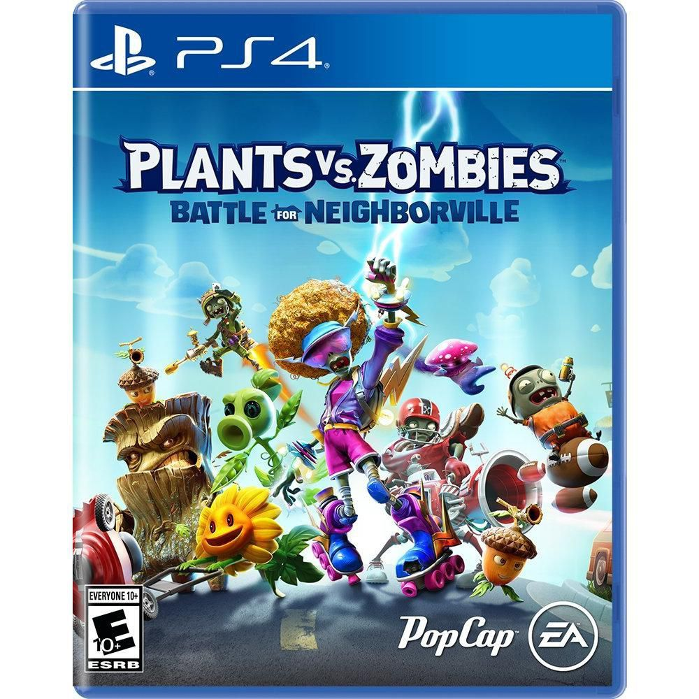 Plants Vs Zombies: Batalha Por Neighborville-Ps4  -  Games Lord