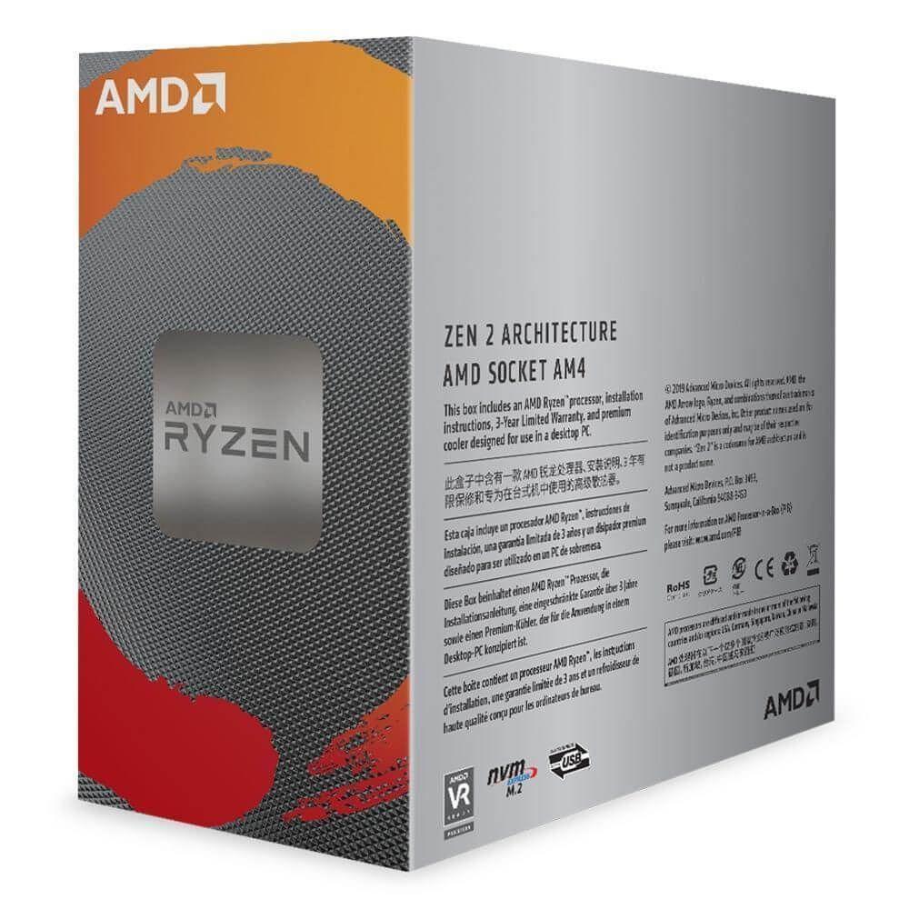 Processador Ryzen 5 3600 3.6GHz (4.2GHz Frequência Máx.) AMD  -  Games Lord