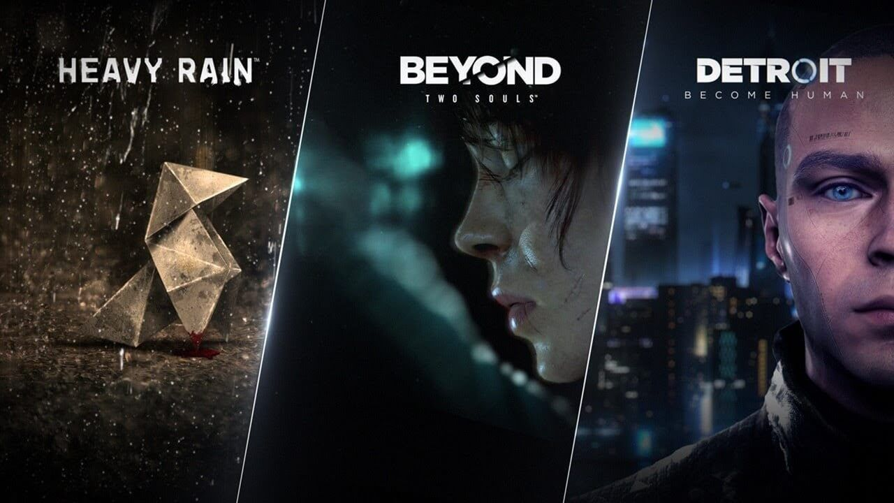 Quantic Dream Collection - Ps4  -  Games Lord