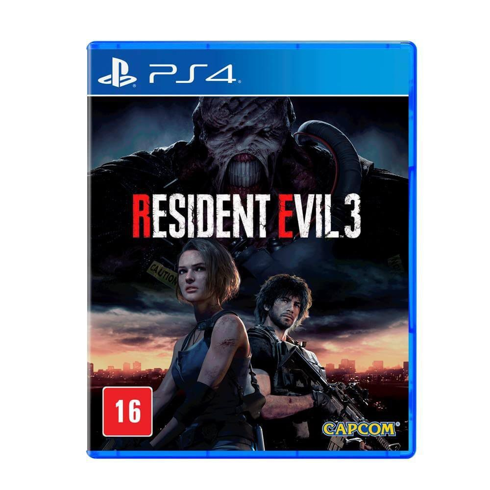 Resident Evil 3 - PS4  -  Games Lord