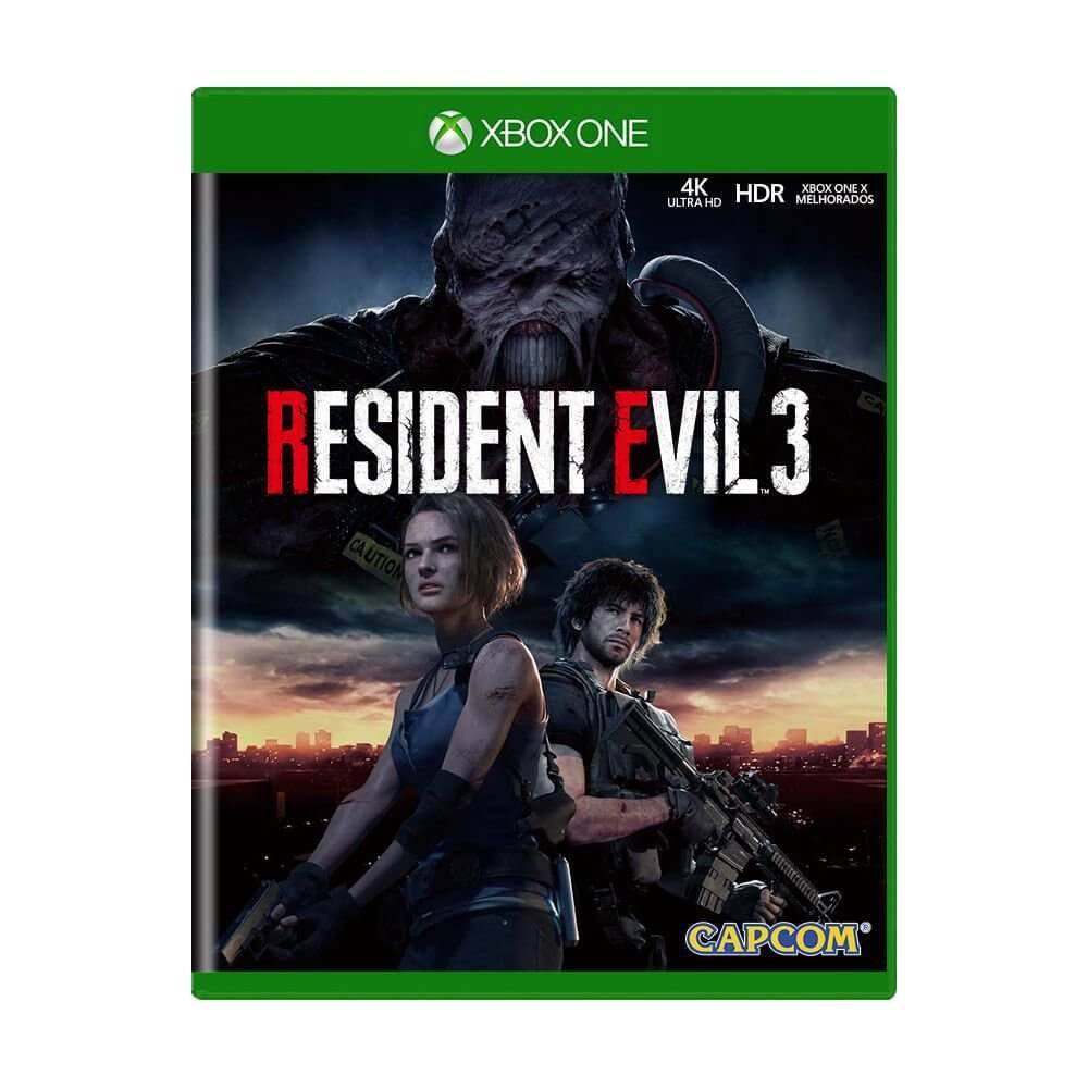 Resident Evil 3 - Xbox One  -  Games Lord
