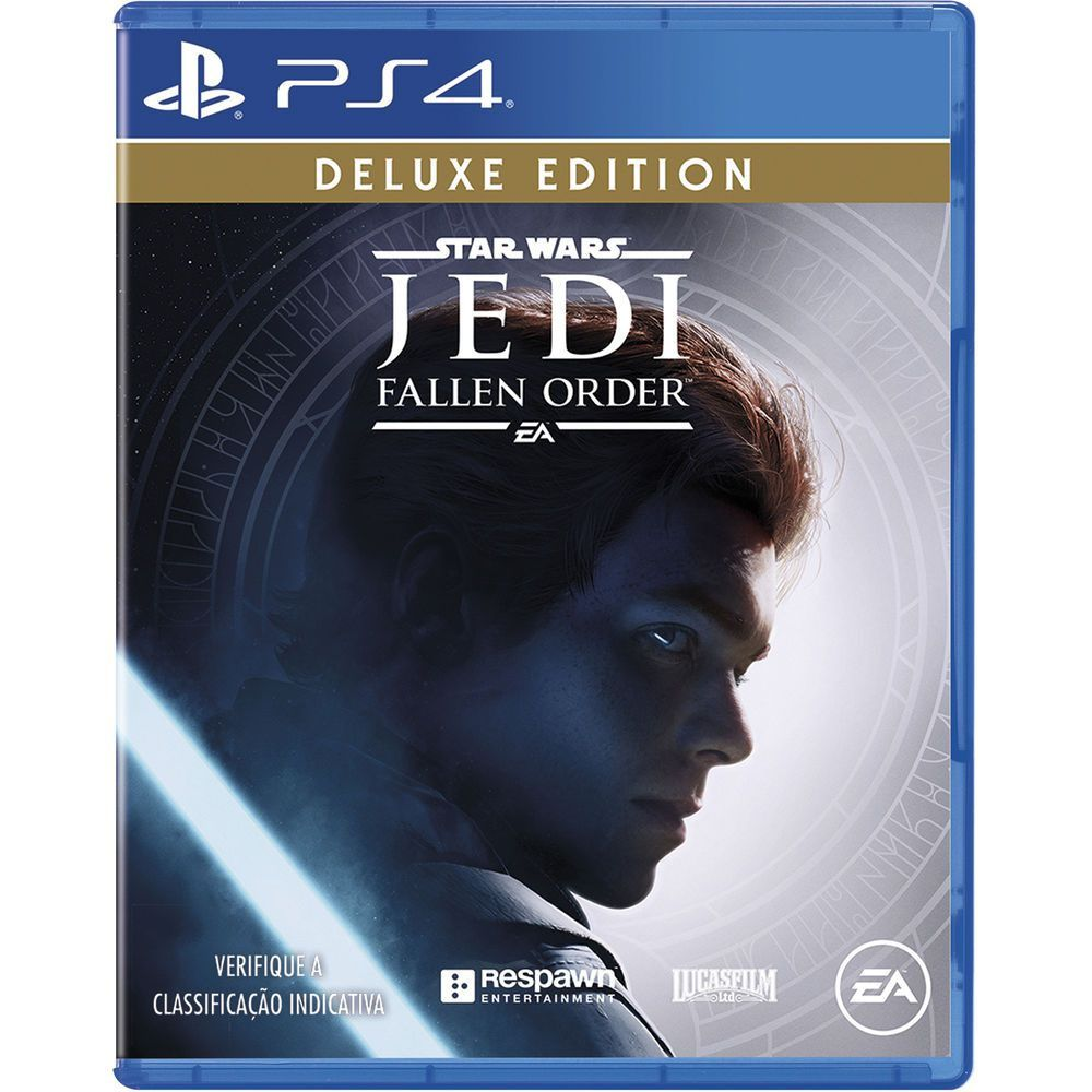 Star Wars Jedi Fallen Order Deluxe - Ps4  -  Games Lord