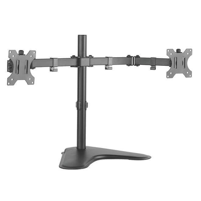 Suporte Articulado De Mesa Para 2 Monitores  - T1224n  -  Games Lord