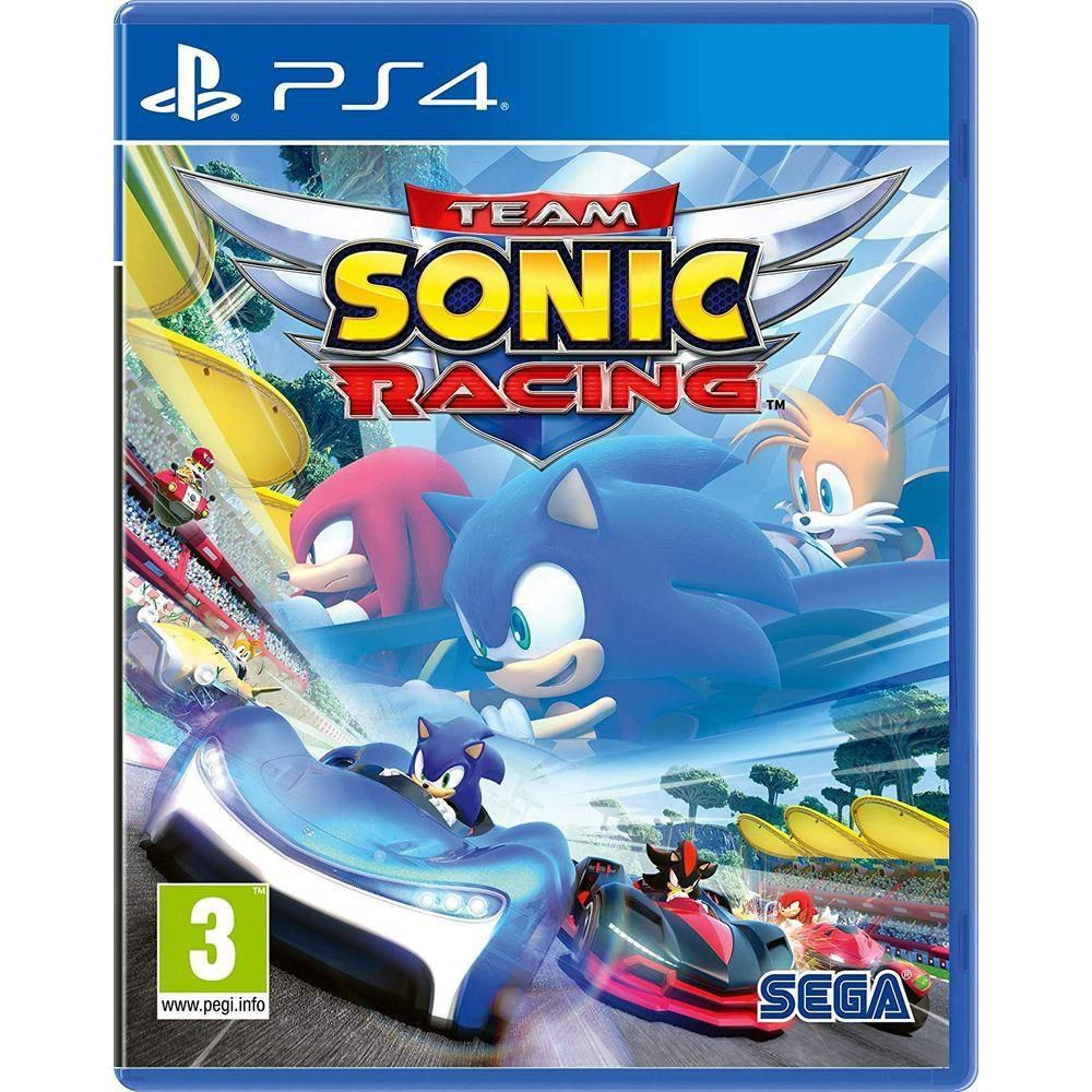 Team Sonic Racing - Ps4  -  Games Lord