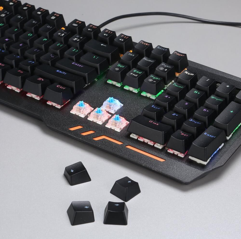 Teclado Gamer Mechanical Shooter- Tgms  -  Games Lord