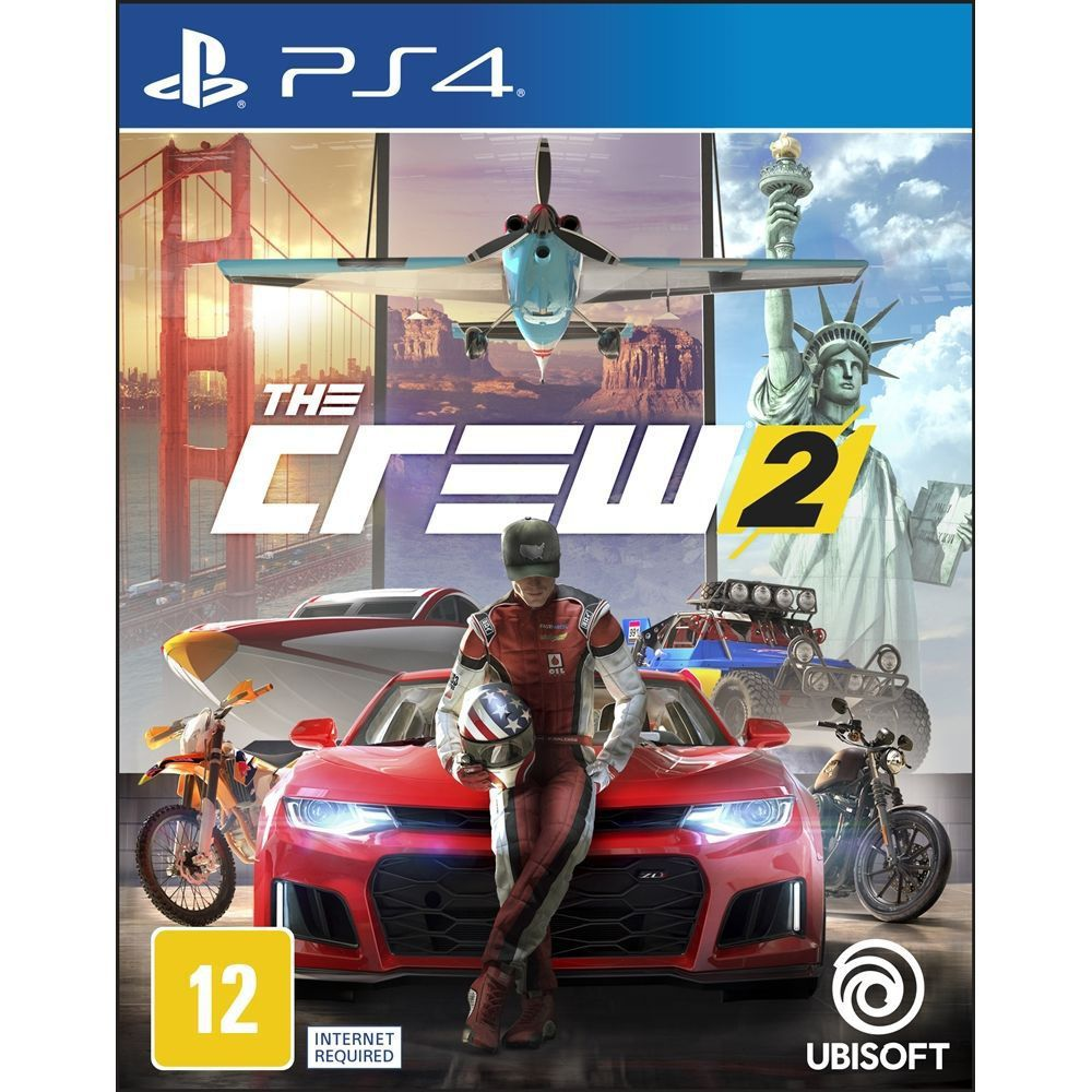 The Crew 2 Limited Edition - Ps4  -  Games Lord