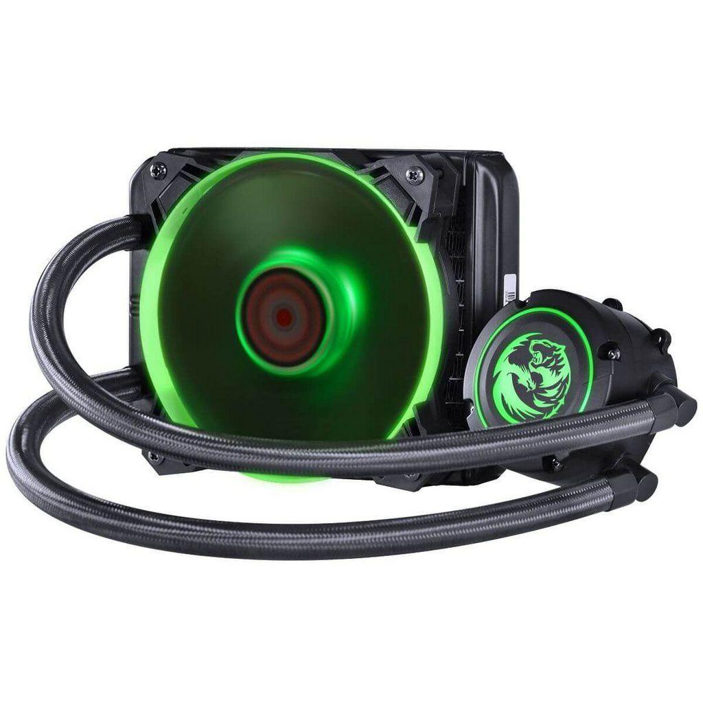 Water Cooler Nix 120mm Mangueiras De Nylon E Led Rgb  -  Games Lord