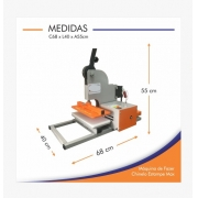 Máquina De Fazer Chinelos E Estampar 2 em 1 Estampe Max mais Molde 23 A 44
