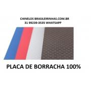 Placa de Borracha 100% SBR a melhor