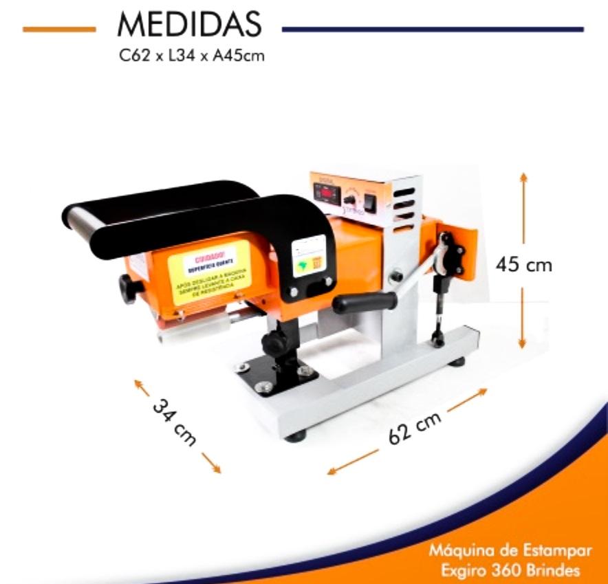 Máquina De Estampar EXGIRO 360 2.0