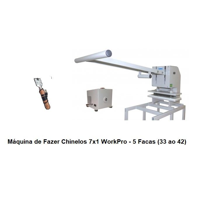 Máquina de Fazer Chinelos  WorkPro