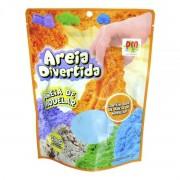 Areia Cinética Massinha de Areia Massa de Areia Areia Mágica Areia Divertida Areia Mágica Refil 300g Dm Toys