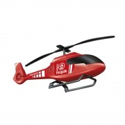 Brinquedo Helicoptero Bombeiro Zuca Toys Infantil