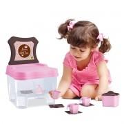 Cadeirinha Chá da Tarde com Acessorios Samba Toys Brinquedo Infantil