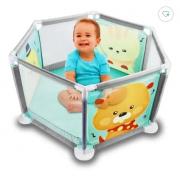 Cercadinho Infantil Berço de Bebê Portátil Chiqueirinho