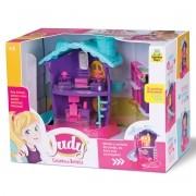 Judy Home Casinha de Boneca Quartinho Samba Toys Brinquedo Infantil